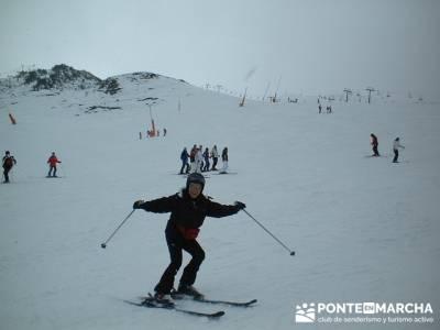 Esquí Baqueira - Aprende a esquiar; floracion jerte
